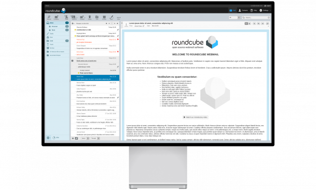 Welcome Roundcube Webmail